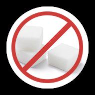 Com rótulo sem açúcar
